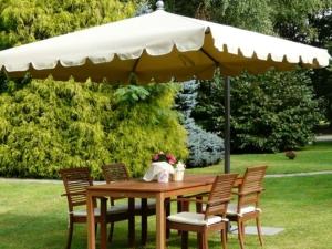 Allegro - side pole square parasol