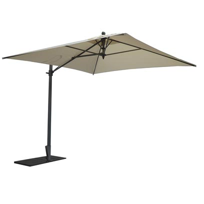 Square side pole parasol - Kronos