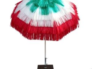 Rafia parasol Italy colors