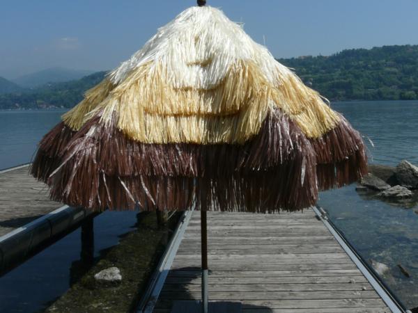 Ombrelloni rotondi - Tulum