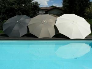 Waterproof parasols - Fibrasol