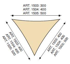 schema vele triangolari