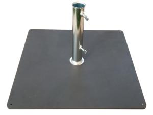 base metallo calpestabile